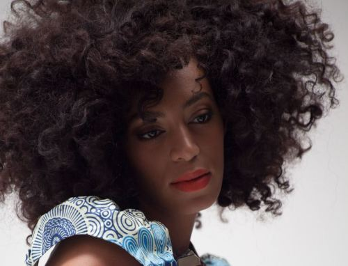 Solange Knowles for ELLE South Africa.    Photo: Justin Polkey
