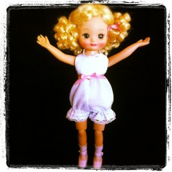 """…and it was this big!!!"" Tiny Betsy says to the other dolls… #doll #cute #tinybetsy #betsymccall #girl #toy #toystagram #aww #toyphotography #photooftheday #iger  (Taken with Instagram)"