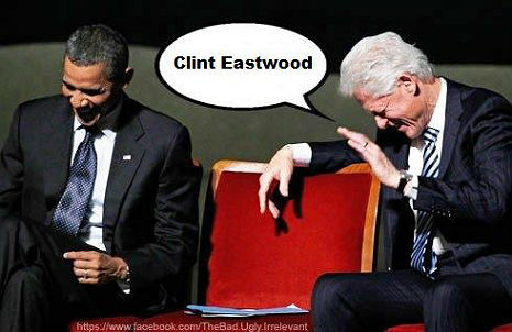 Eastwooding…and I thought Clint Eastwood was only a senile old man in the movies. I have a six piece dinette set that is in need of a serious scolding.  Is Clint available?