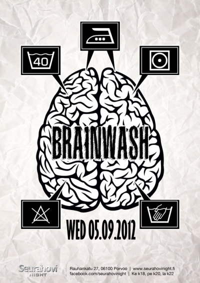 Brainwash 05/09/2012 @Seurahovi Night