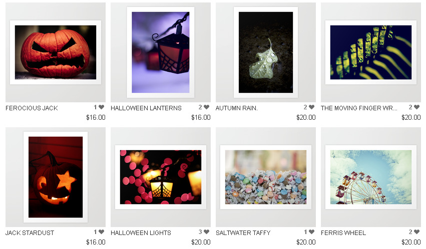wigglewarily:  My society6 shop has some seasonally themed items up for sale right now.  I have no idea what self portraits to offer, so I would absolutely appreciate input on what you would like to see available from my best self set on flickr. Or anywhere on flickr, self or no. Stuff prior to the second half of 2010 can't be made into ipad or laptop skins and some of it won't print larger than 17 x 23 (effectively 13 x 19 with some trim space). Thanks for looking! xo