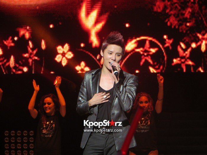 JYJ Junsu's (XIA) Splendor Performance Captivates New York City  (via KpopStarz)