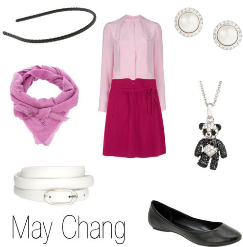 character-inspired-fashion:  May Chang