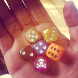 Johnny cupcakes dice #zskfam (Taken with Instagram)