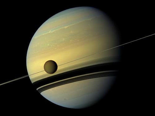theatlantic:  NASA's Cassini Spacecraft Captures Stunning Close-Ups of Saturn and Titan