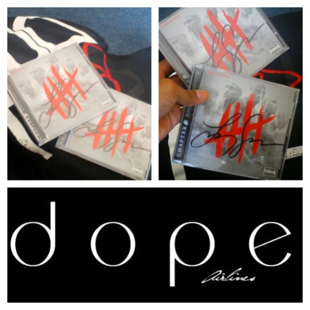 Want to win Chapter V autographed by @TreySongz himself?? I'll be dropping details soon. Stay tuned!!!!!!!! #ChapterV #dope (Taken with Instagram)