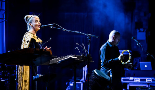"""Dead Can Dance's performance was a string of dirges and incantations…[Lisa Gerrard's] keening, hovering voice can summon the tragic dignity of Baroque opera, the bite and swoop of Balkan music, the calm fatalism of Celtic ballads and the devotionality of plainsong. It was pure, wordless, rapturous sound."" - Jon Pareles, New York Times See what else the New York Times had to say in its review of Dead Can Dance's Wednesday night show at the Beacon Theater. And, of course, don't forget to spin Anastasis."