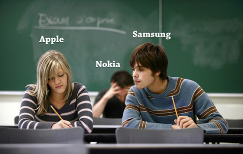 Apple, Samsung and Poor Nokia