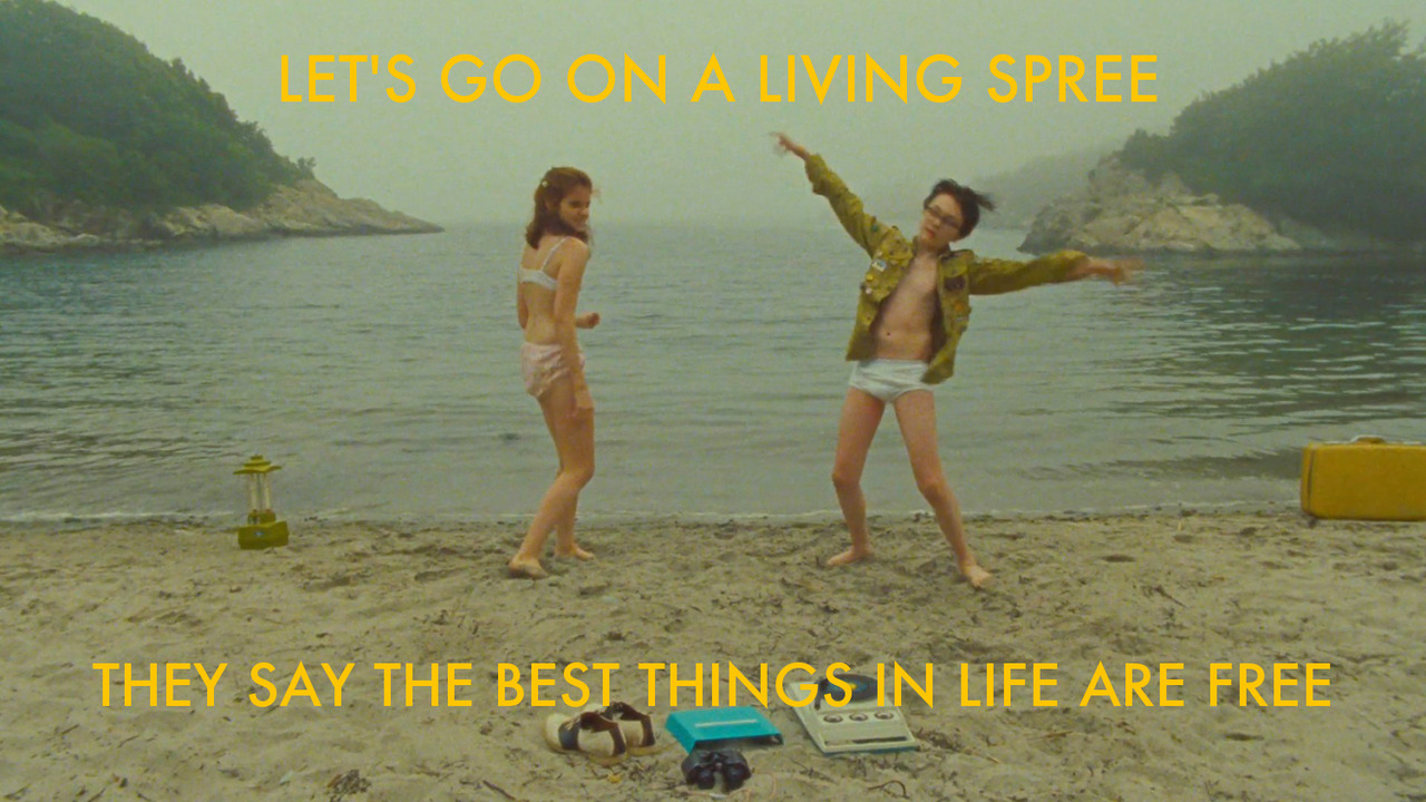 kanyewesanderson: Moonrise Kingdom / The Good Life Best. New. Tumblr. Enjoy. Stay klassy, AJ.