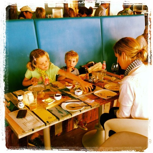 Ending the holiday @ Brooklyn Beach cafe, yummy! (Taken with Instagram at Brooklyn Beach)