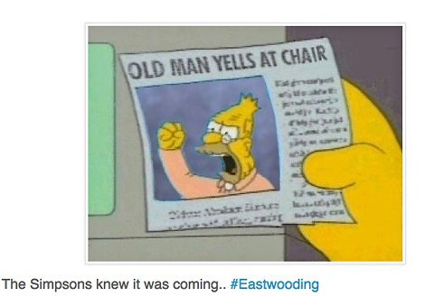 D'Oh! Eastwood's Convention Speech Spawns Fake 'Simpsons' Meme - NYTimes