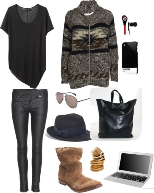 is it winter in california yet? by moonmichelle featuring slouchy boots
