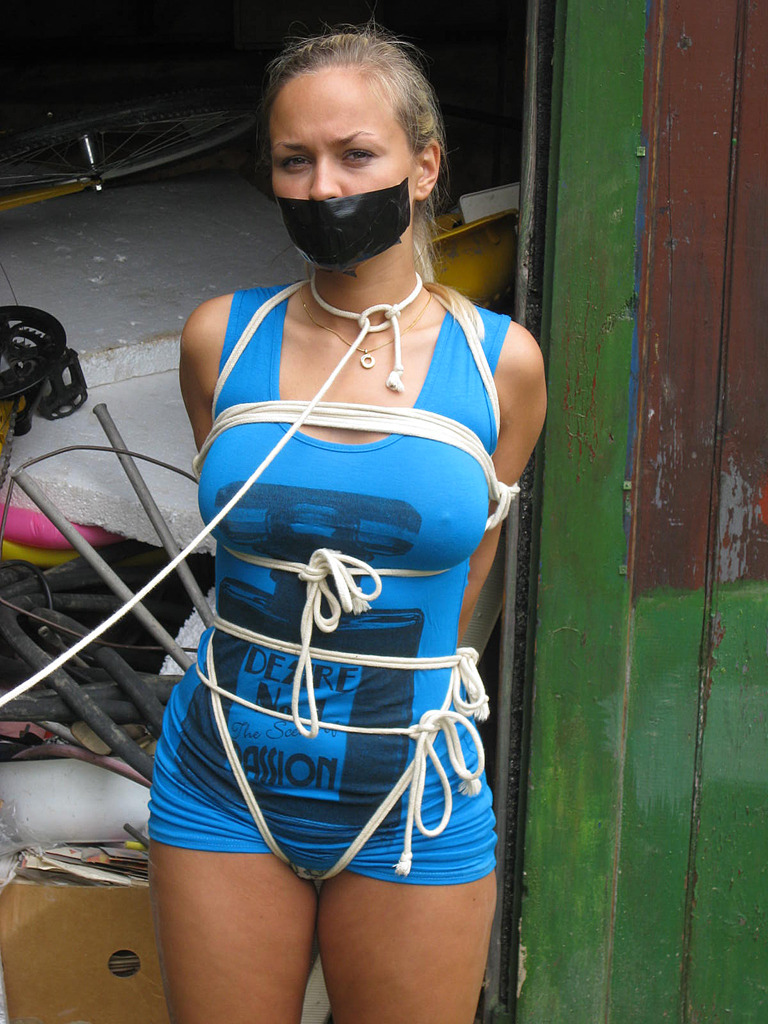 thexpaul2:  Marki roped & tape gagged