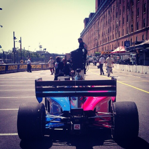 Rolling down pit lane #realracing #indylights  (Taken with Instagram)