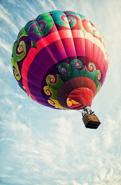 We'd love to travel via hot air balloon. Triptrotters: what location would be the best to float over for the best view?