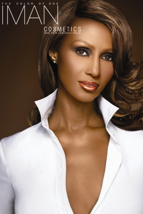"forbrowngirls:  Iman Proved That Black Women Do Indeed Buy Liquid Foundation BY CHARLOTTE COWLES [NYMAG.COM]  Iman started her own cosmetics line for women of color at J.C. Penney in 1994, and the brand's sales skyrocketed to $25 million in just two years. In 2004, she signed a deal with Procter & Gamble to take her brand to the mass market, but it hasn't been an easy path. ""I didn't understand that it was if they have 1,000 doors, 200 are for women of color,"" said Iman at WWD's Beauty CEO Summit yesterday. Distributors like Walgreens and Target responded to her products with caution and tried to place them at the back of their stores. Said Iman: It was a no-go. They wanted me to be placed at the back, which they considered, like it is, for the ethnic section, which I was totally against it for no other reason but 'cause also I never considered myself an ethnic brand. Ultimately, most of Iman's business is now conducted online, since retailers wouldn't agree to put her products with the rest of their makeup. Of course, having an e-commerce-based sales model for cosmetics really stunts Iman's growth, because women usually like to look at makeup — and test it themselves — before they buy it. She knows this and wishes it could be different. There is growth right here, if only the retailers understood it. I have customers from all over the world that look for the products, but I also have customers in the U.S. that can't find the product in a store near them. Further proving that she knows her customers best, she launched a liquid foundation last year, despite discouragement from retailers who thought no one would buy it. Last year, I decided to create a liquid foundation, which I have been told numerous times by the retailers, ""Oh, black women don't buy liquid foundation,"" right? Um, do black women have skin? And zits and wrinkles and other cosmetic annoyances? Within three months, Iman says, the liquid foundation became her top-selling item. Moral of the story: Retailers, put makeup for black women in your makeup aisle. It's ridiculous that this is an issue today."