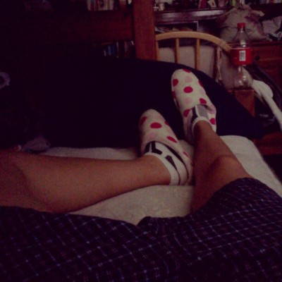 Chlllin with boxers &slippers #Dork (Taken with Instagram)