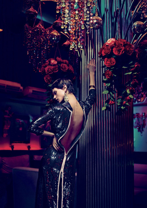"""One Night in Bangkok"" (+) V Magazine #79, Fall 2012 photographer: Nathaniel Goldberg Saskia de Brauw // spinningbirdkick"