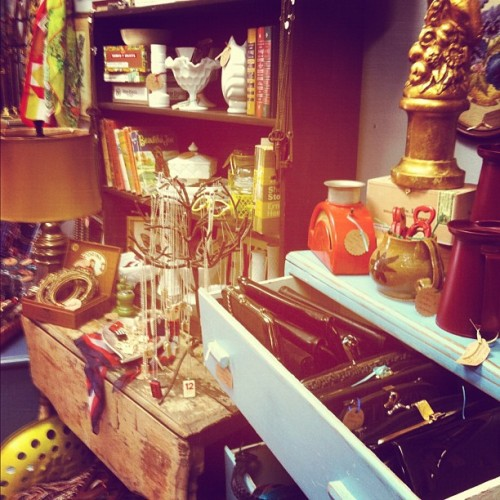 Buy all the things! #vintage #thrift (Taken with Instagram at Gather & Collect)