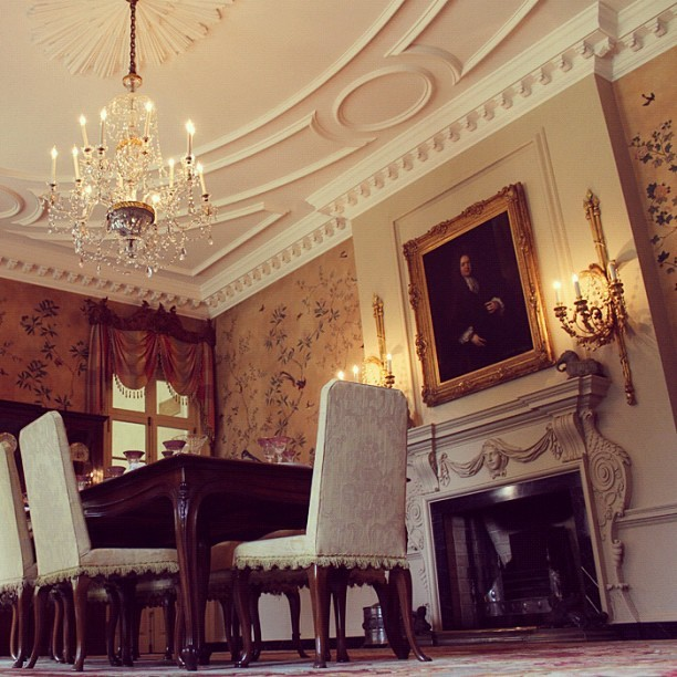 Dining Room at the AHC's Swan House