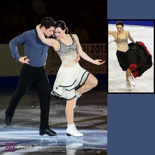 Tessa Virtue and Scott Moir skating to I Want to Hold Your Hand at the 2012 Canadian Nationals gala. You may remember Virtue's bodice from Farrucas at the 2009 Skate Canada. It works so much better on the new dress. Sources: www.flickr.com/photos/24291681@N08/7512722974/in/set-72157628930249019 davecskatingphoto.com/photos/2009SkateCanada/dance/IMG_3330a.jpg