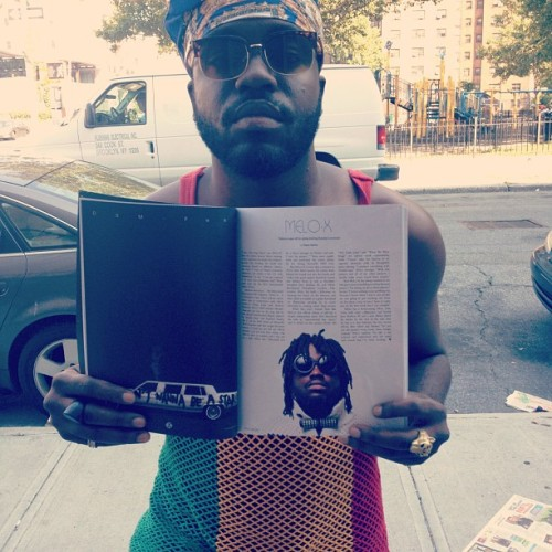 zuluguru:  Wax Poetics did a article on me. Pick up the latest issue. Shouts to the homie @_KingShabazz_ for the write up!! (Taken with Instagram)
