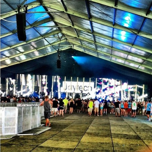 #jaytech #electriczoo2012  #nyc  (Taken with Instagram)