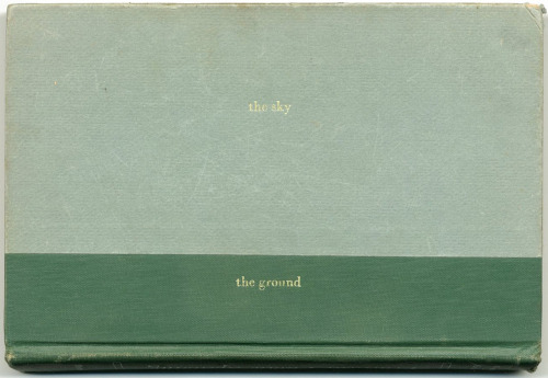 the sky and the ground (for Remy Charlip) IMAGE SOURCE