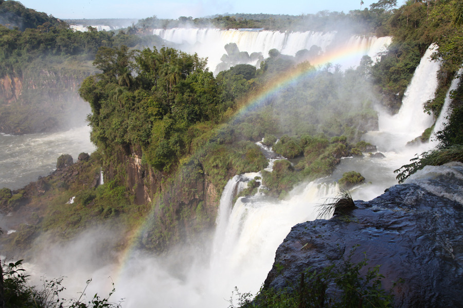 More photos from the Iguazu Falls