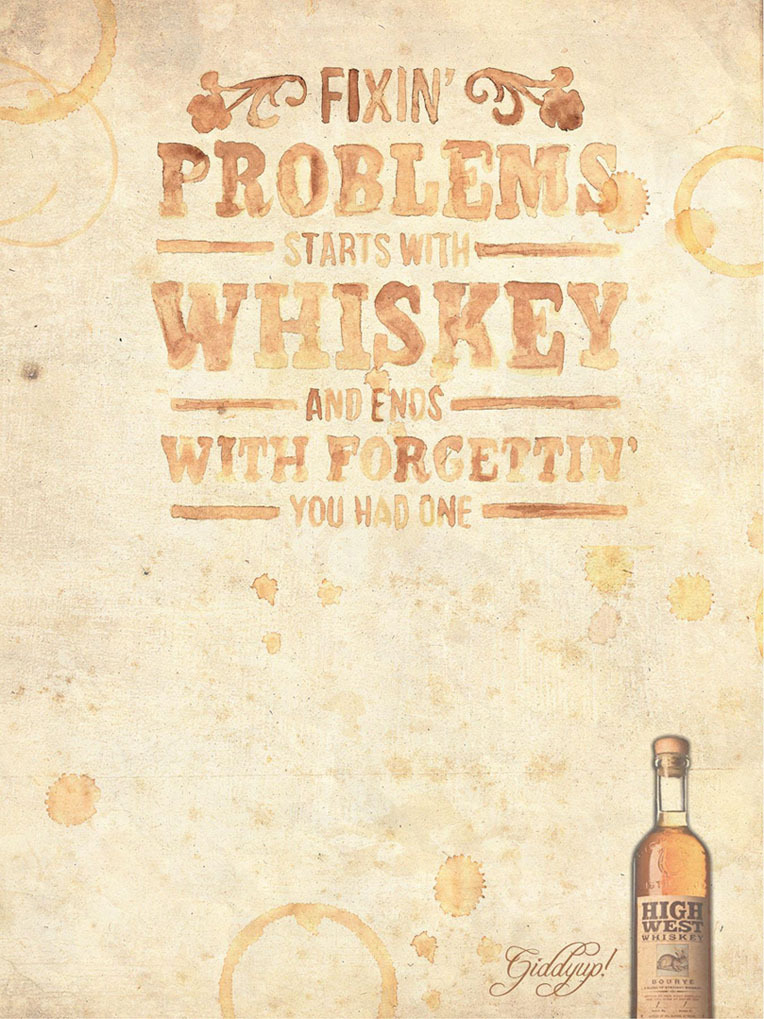 frontierjustice:  High West Bourye Whiskey.
