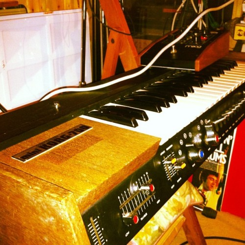 Analogue Synth #minikorg700 #synth (Taken with Instagram)