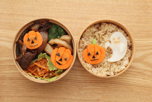 halloween bento 2011 by hanabi. on Flickr.
