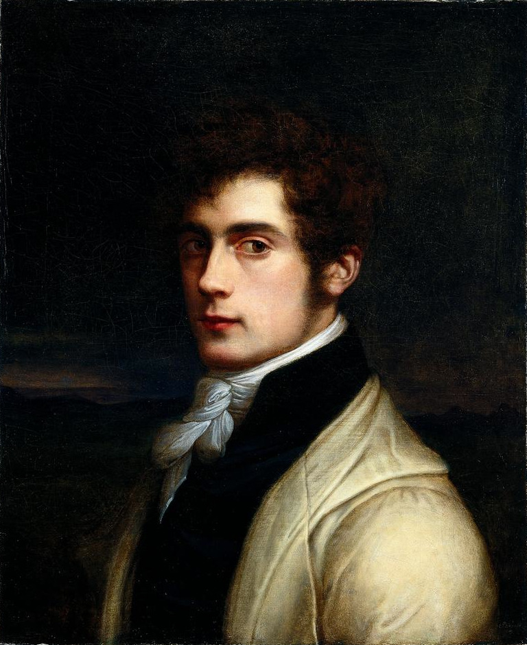 necspenecmetu:  Carl Joseph Begas, Self-Portrait, 1819