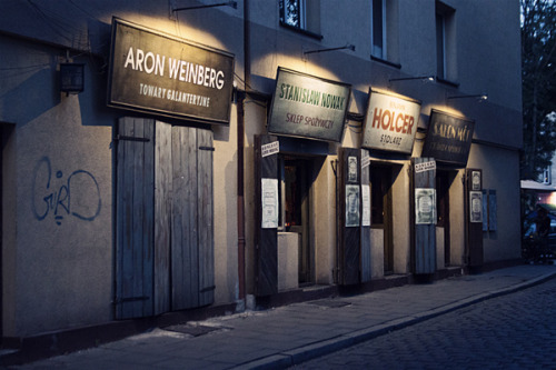wavvvesofmutilation:  Old Jewish shop fronts, Kazimierz, Krakow.