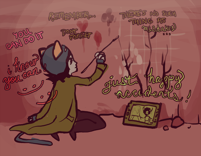 nepeta learns from the masters