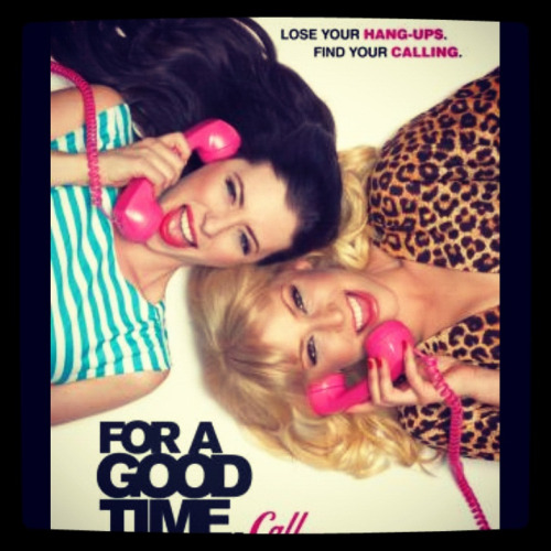 happy 'For a Good Time, Call…' friday! go see this. it's funny. and well-written, by two very smart ladies. and it pretty much outlines the necessary steps to make bank with your bestie. so, there's that.  (taken with instagram)