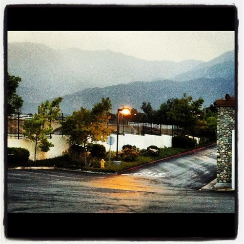Misty day #rain #mist #cloudy #repeat #instagram  (Taken with Instagram)