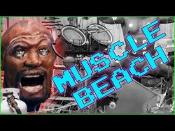 Muscle Beach - Old Spice Muscle Music Song Amazing. Mowtendoo creates Koopa Beach from Super Mario Kart in the Old Spice Muscle Music video/app thing: http://www.makemefries.com/video/3485/Old_Spice_Muscle_Music.html