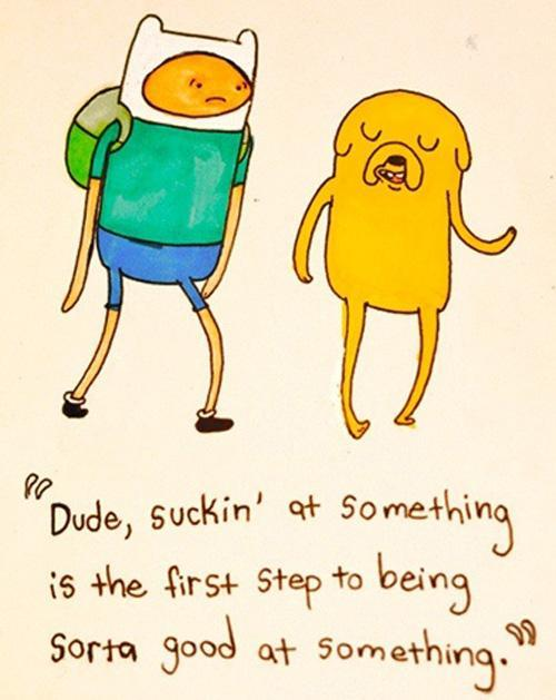 adventuretimefan:  iwakaru:  Tan cierto.  Jake wisdom.  Always reblog.