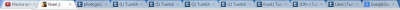 alluringalanna:  9 tumblr tabs for what?  *off RP* omg those are one of my pet peeves xD when I realize I have a lootttt of taps I always close the unneeded ones out xD