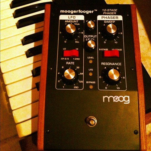 Moogerfooger - MF-103. This is worth £250+! (Taken with Instagram)
