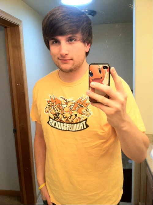 Vacation facial hair and Pokemon shirt :)
