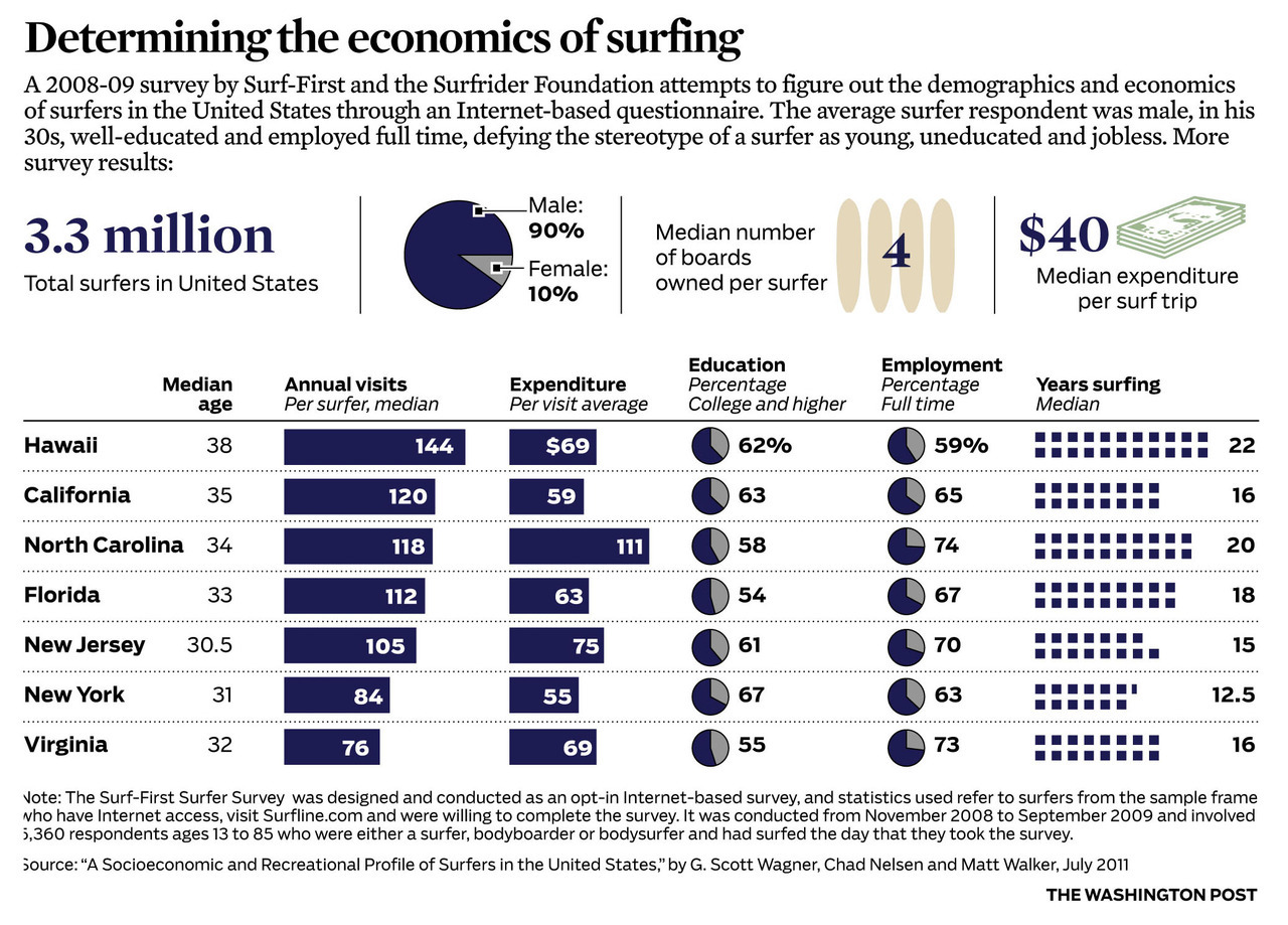 Surf industry economics (chart)