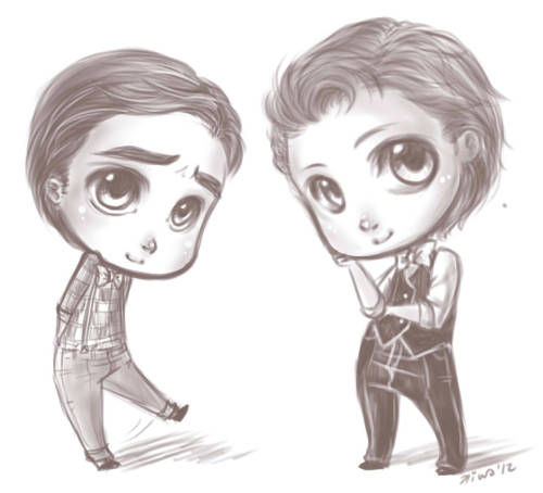 kiwakostalova:  okay :B made some Blaine too, so that Kurt wouldn´t get lonely ^^;