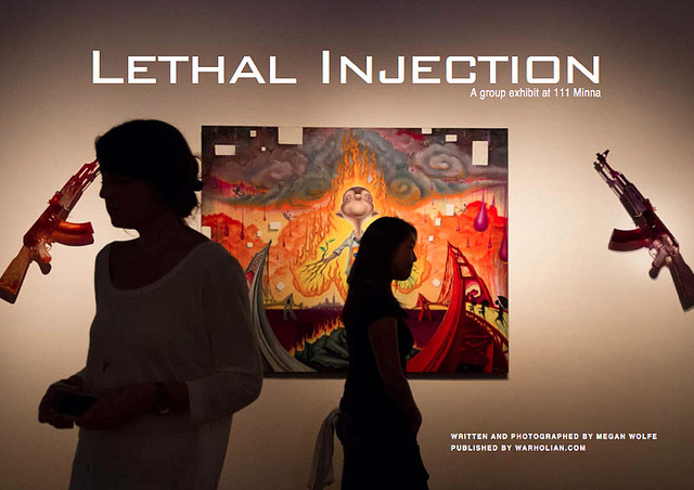 "Lethal Injection PDF Article on Flickr.I've updated the Media page with a PDF copy of the ""Lethal Injection"" group show article, written for Warholian.com. You can also check out my select batch of photos on www.meganwolfephoto.com under Galleries > Freelance. Check out the new ""Media"" page on my website: www.meganwolfephoto.com ""Like"" my photography on Facebook: www.facebook.com/meganwolfephoto"