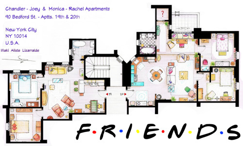 Floorplan of Apartments 19 & 20