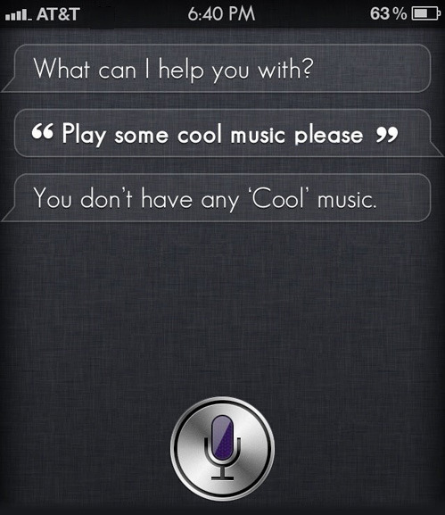 tastefullyoffensive:  Thanks, Siri.[via]