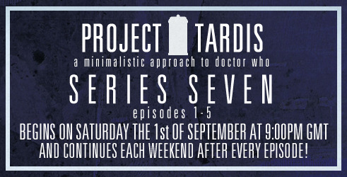 My long running graphics project, Project TARDIS, returns tomorrow evening, for five weekly instalments of minimalistic Doctor Who posters!