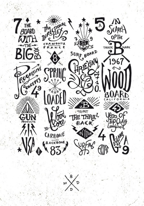 typeverything.com, BMD Design