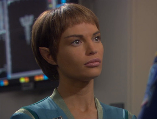 """Even the most disagreeable species have some positive attributes."" - T'pol"